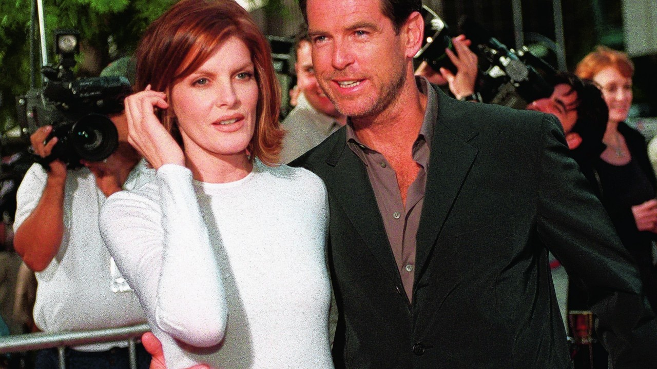 Pierce Brosnan at the premiere of The Thomas Crown Affair  in 1999