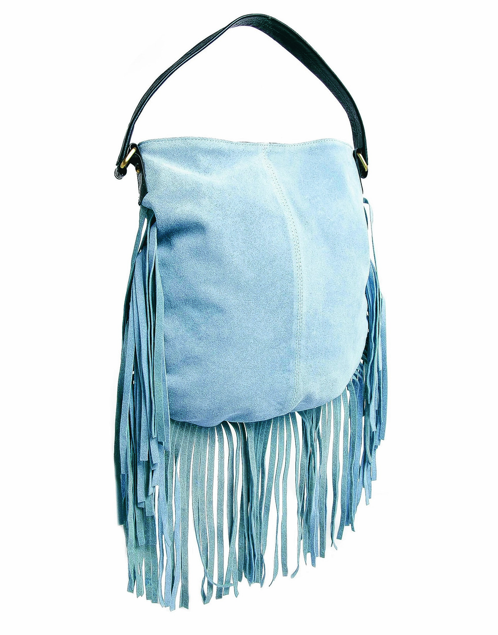ASOS Suede Fringe Shoulder Bag.