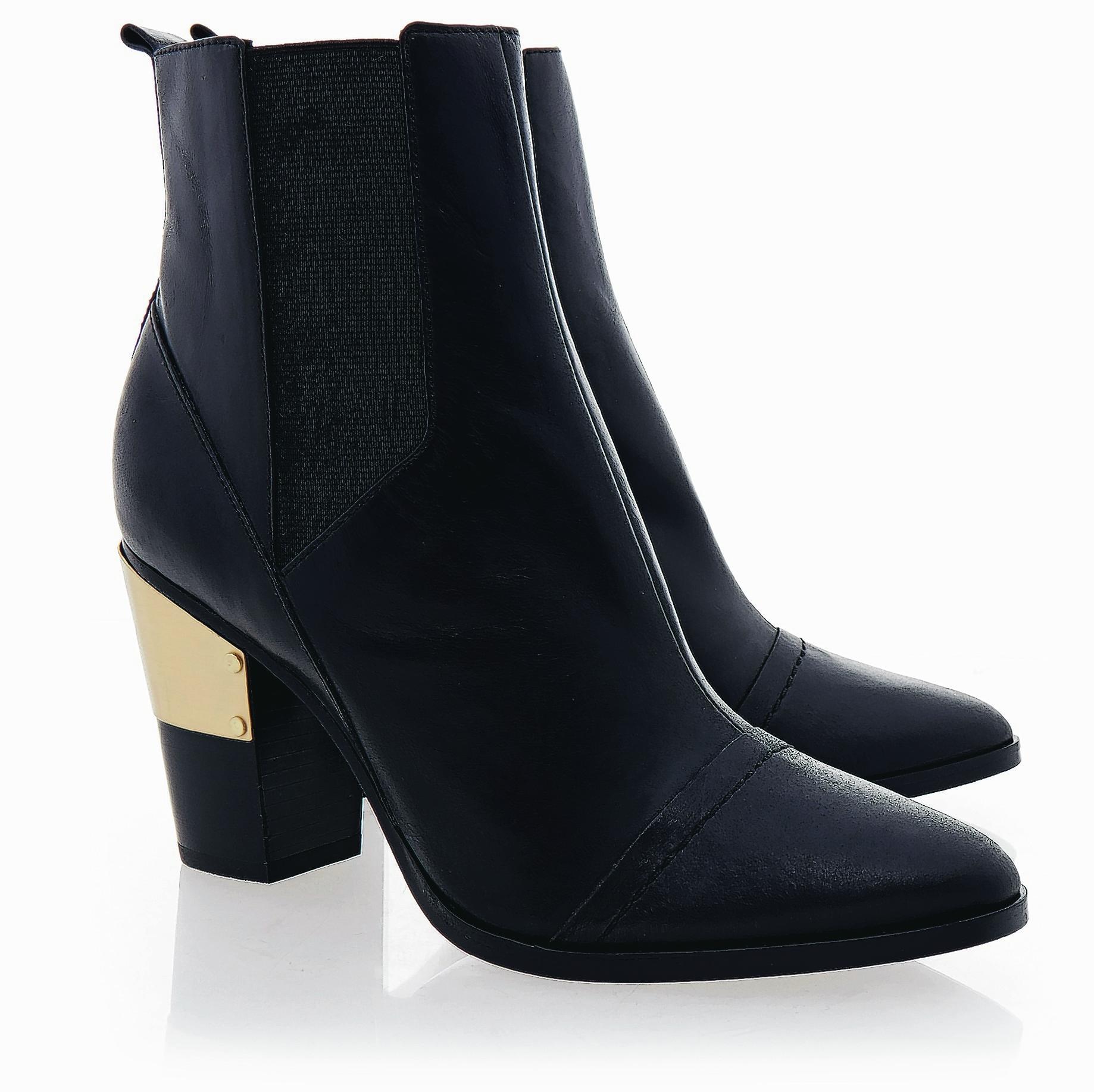 Rachel Zoe Rory Hair Calf Vachetta Ankle Boots,