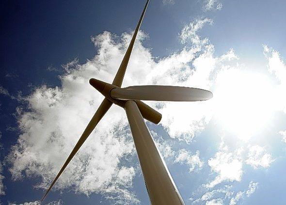 Plans lodged for Scotland's fourth biggest turbine.