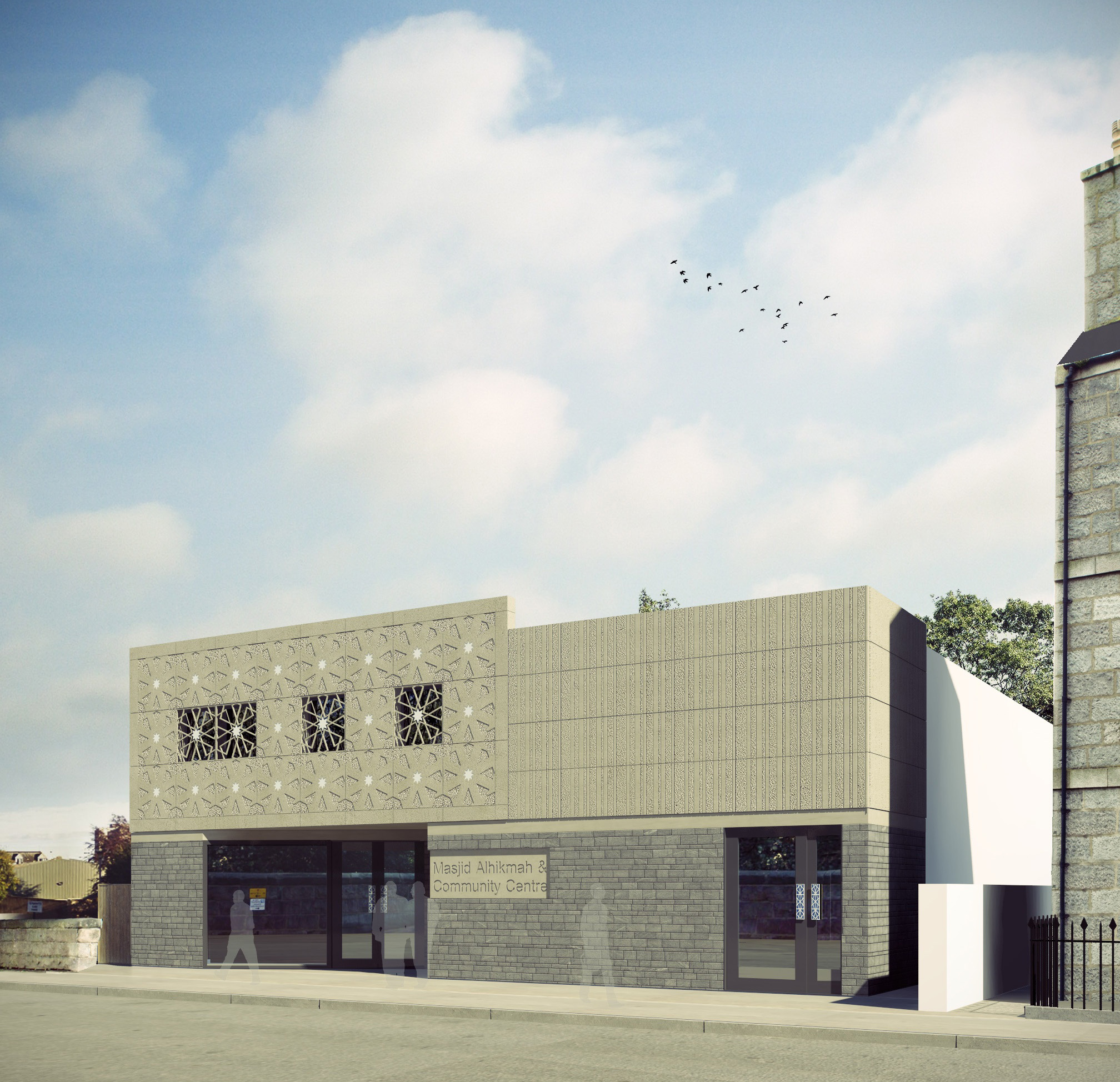 Work on the new Aberdeen mosque will begin in January