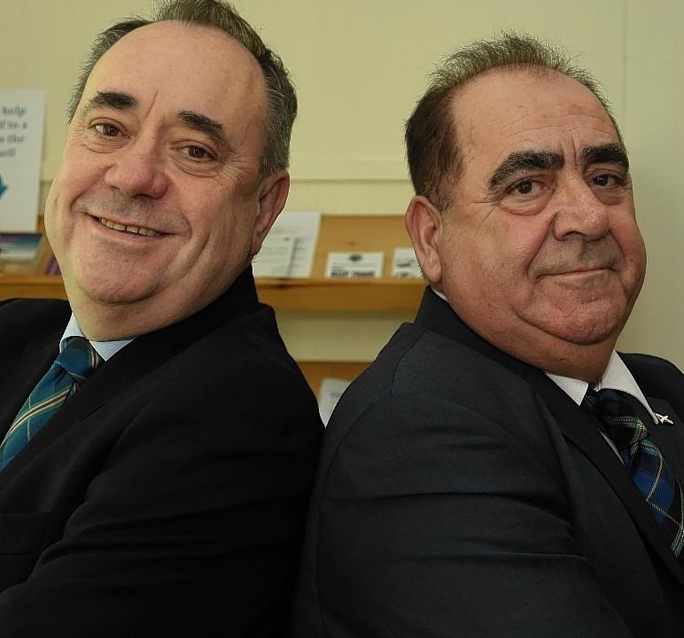 John MacLeod has seen his lookalike work dry up since Salmond stepped down as first minister