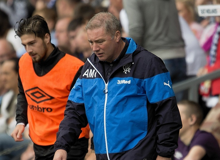 And it is unclear when McCoist will actually leave the club
