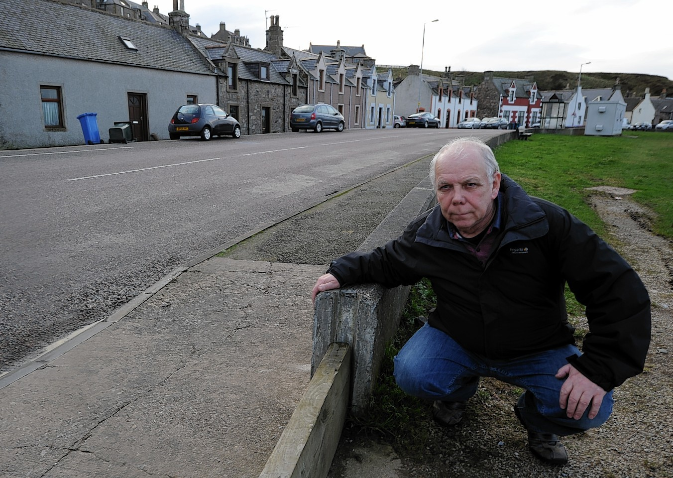 Bill Cooper wants his flood worries to be gone this Christmas