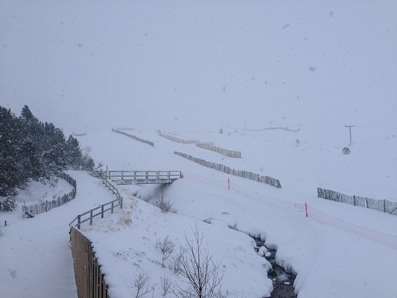 Cairngorm ski area