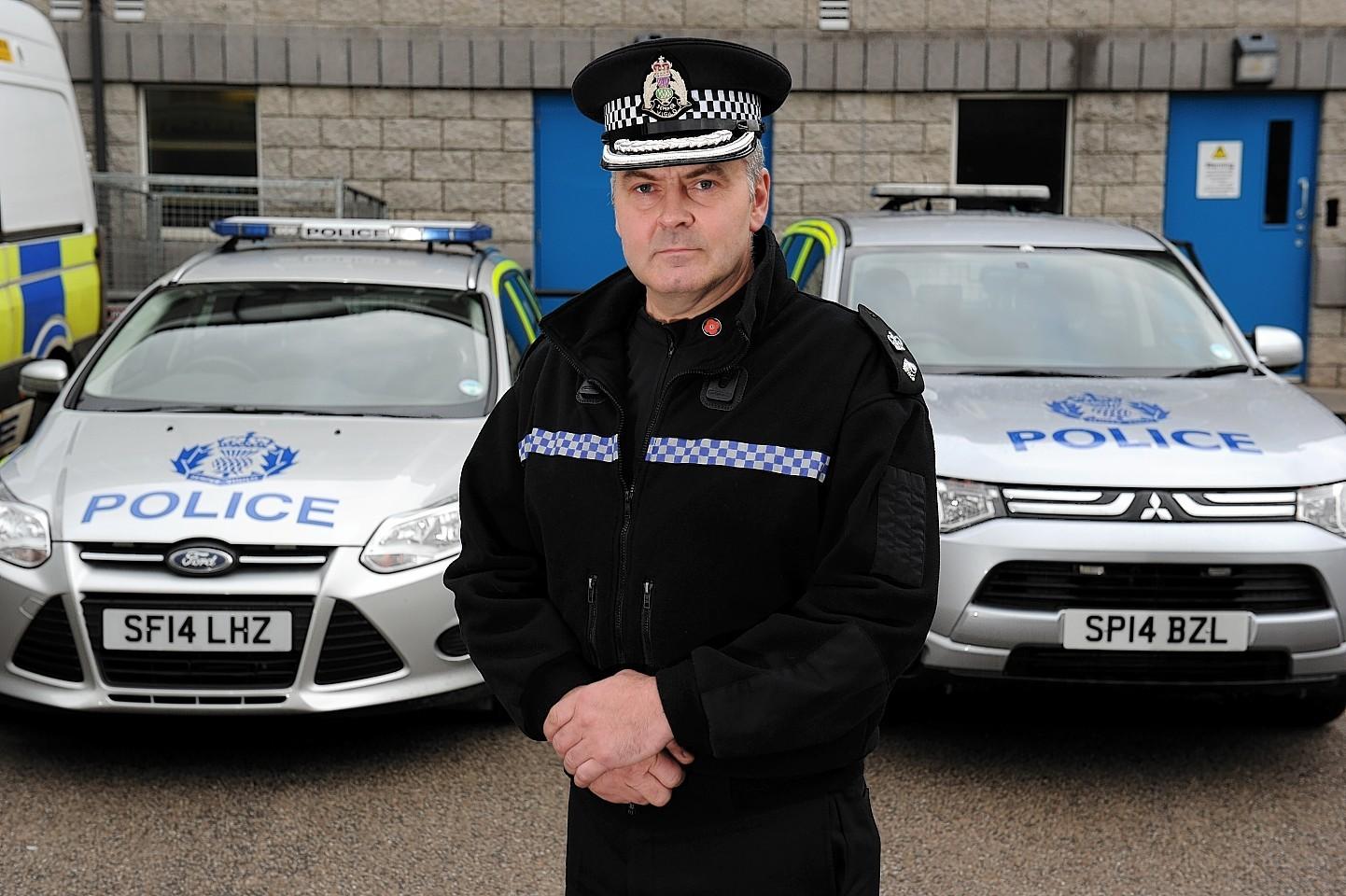 Chief Superintendent Mark McLaren