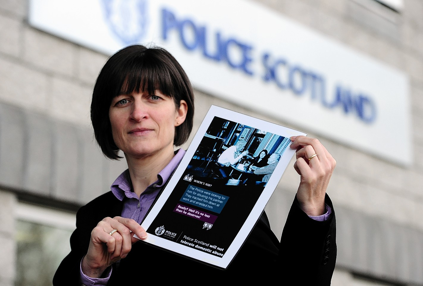 Detective Inspector Fiona Topping, of Aberdeenshire and Moray's domestic abuse investigation unit
