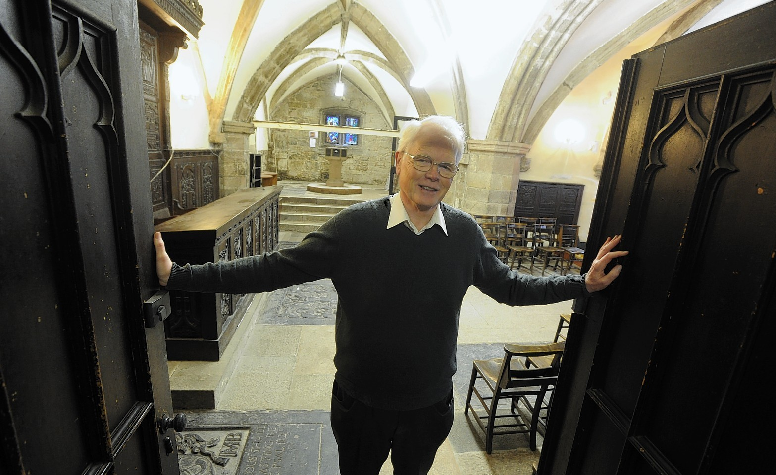 Arthur Winfield has received a BEM for services to heritage in Aberdeen for leading a project at the Mither Kirk