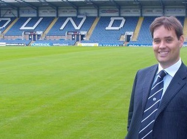 Calum steps in as chairman of Dundee and ploughs cash into the Tayside team