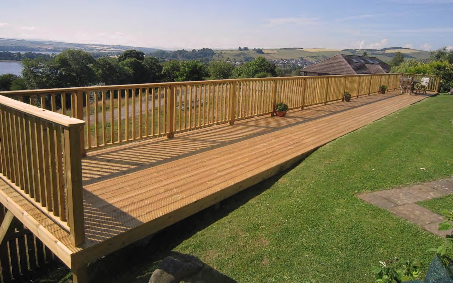 A picture of Gordon Christie's Dingwall decking