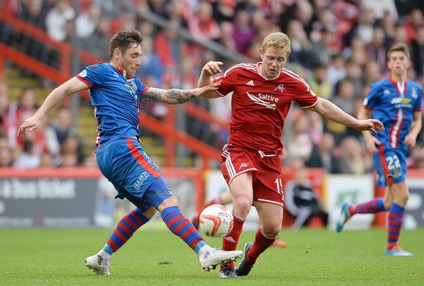 Barry Robson is the most experienced Dons player out of contract at the end of the season