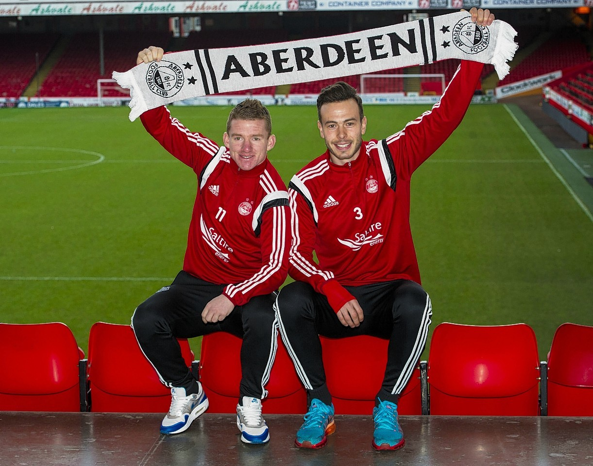Jonny Hayes penned a new deal this week, alongside Andy Considine