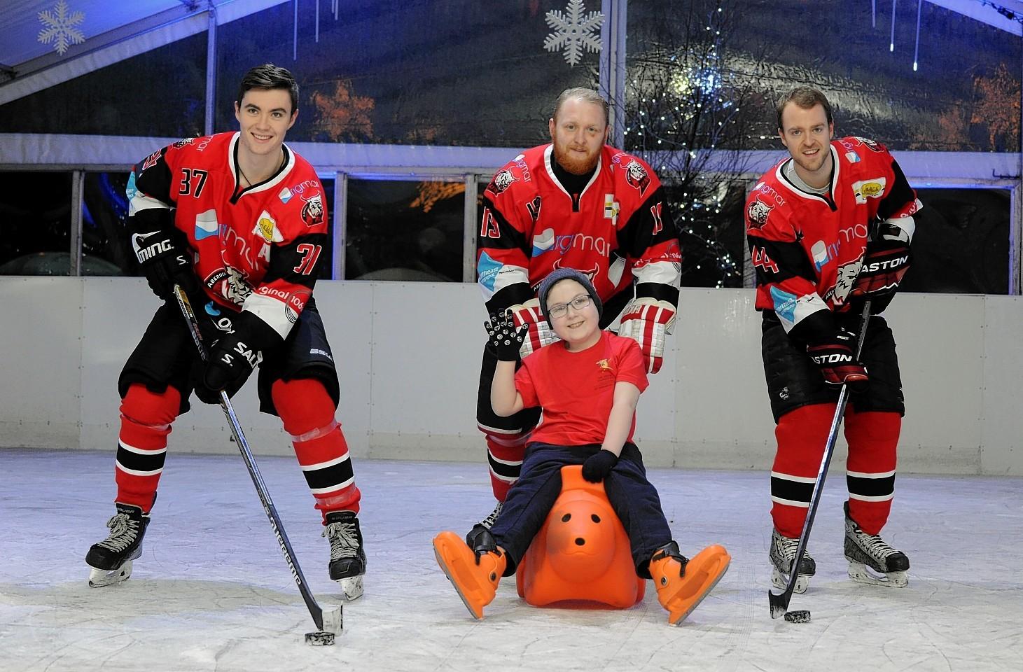 Aberdeen's Union Terrace Gardens ice rink