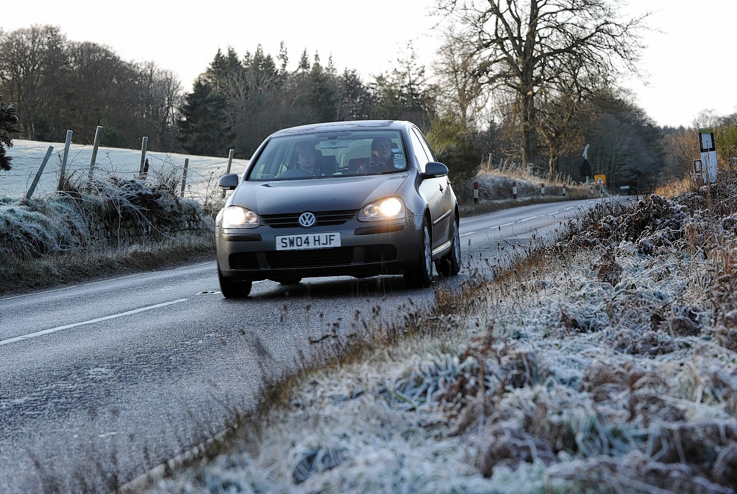 Western Isles roads could be affected by black ice