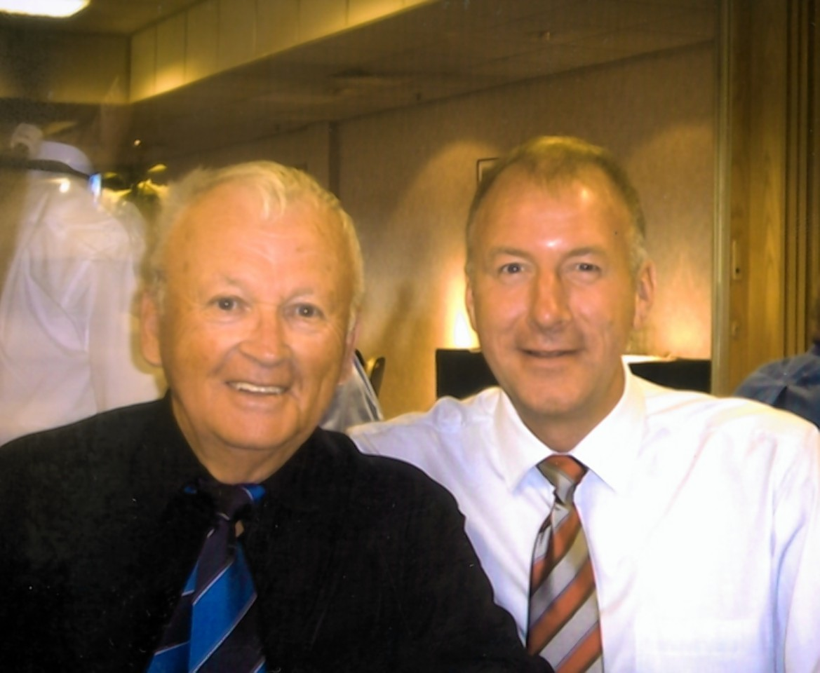 Innes Macdonald with Neil Simpson
