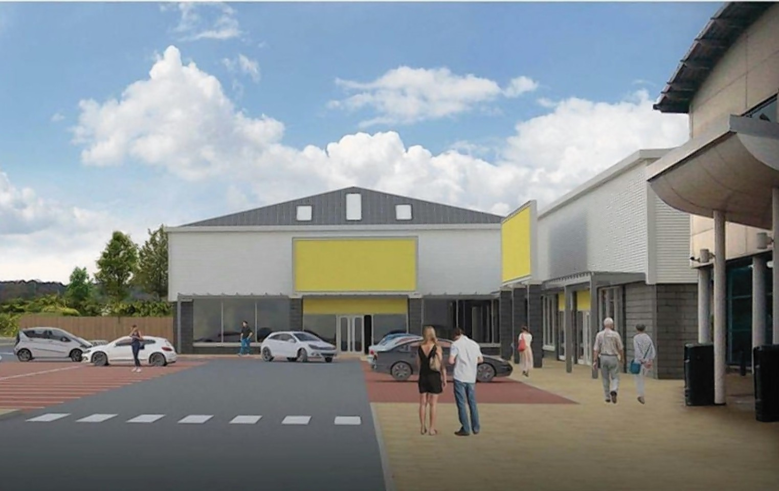 The plans for Inshes Retail Park