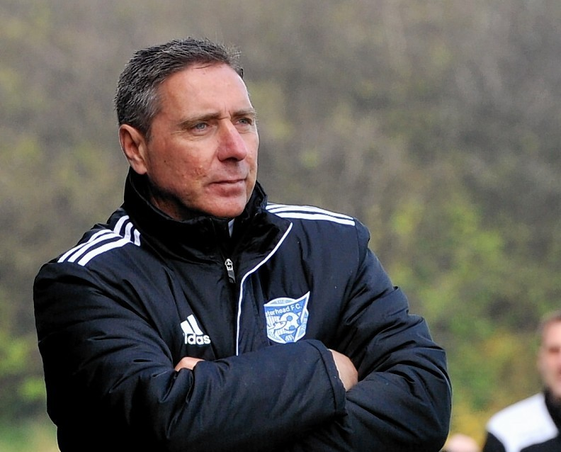 Peterhead boss Jim McInally