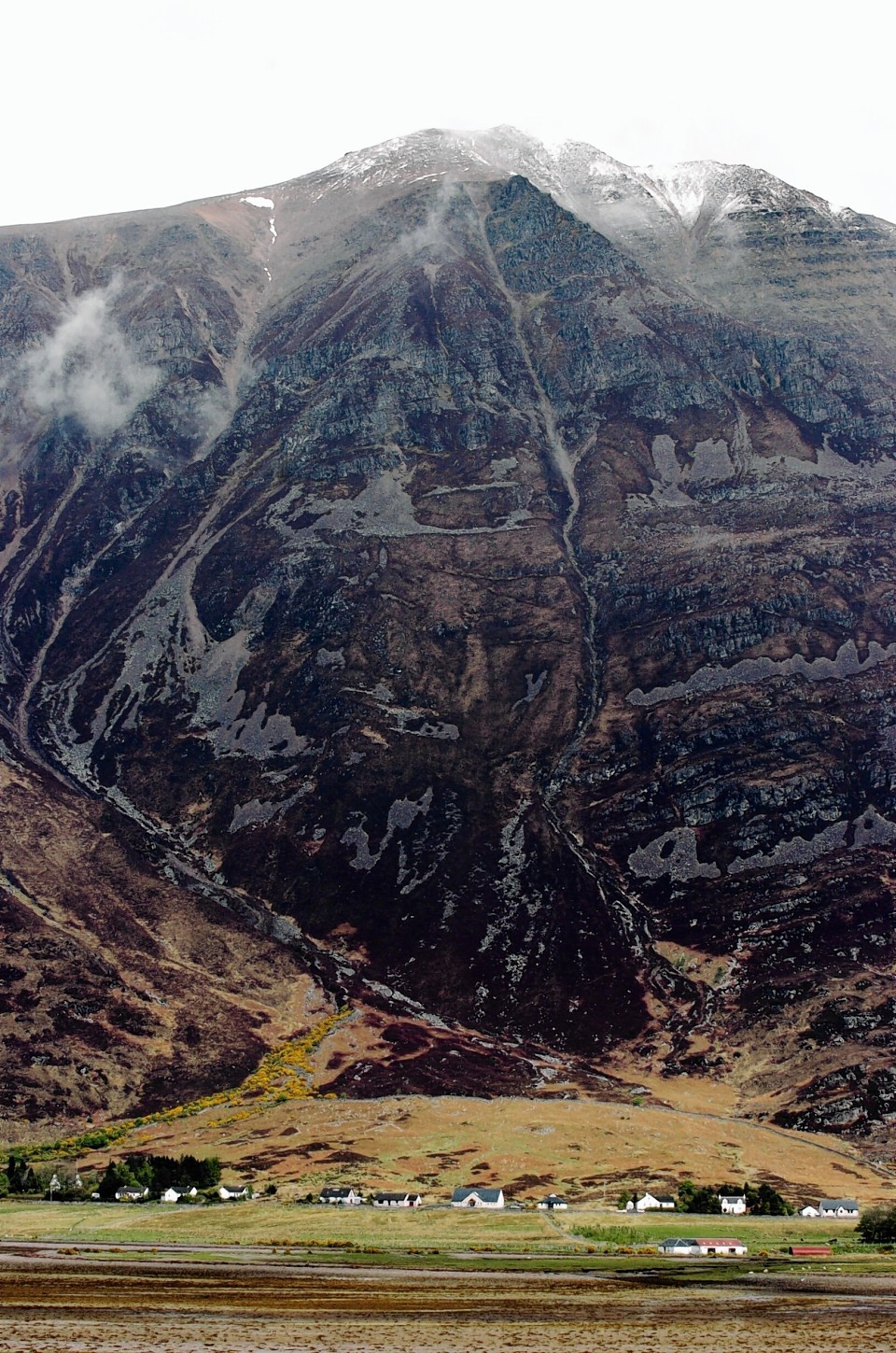 The accident happened on the Liathach area of Glen Torridon