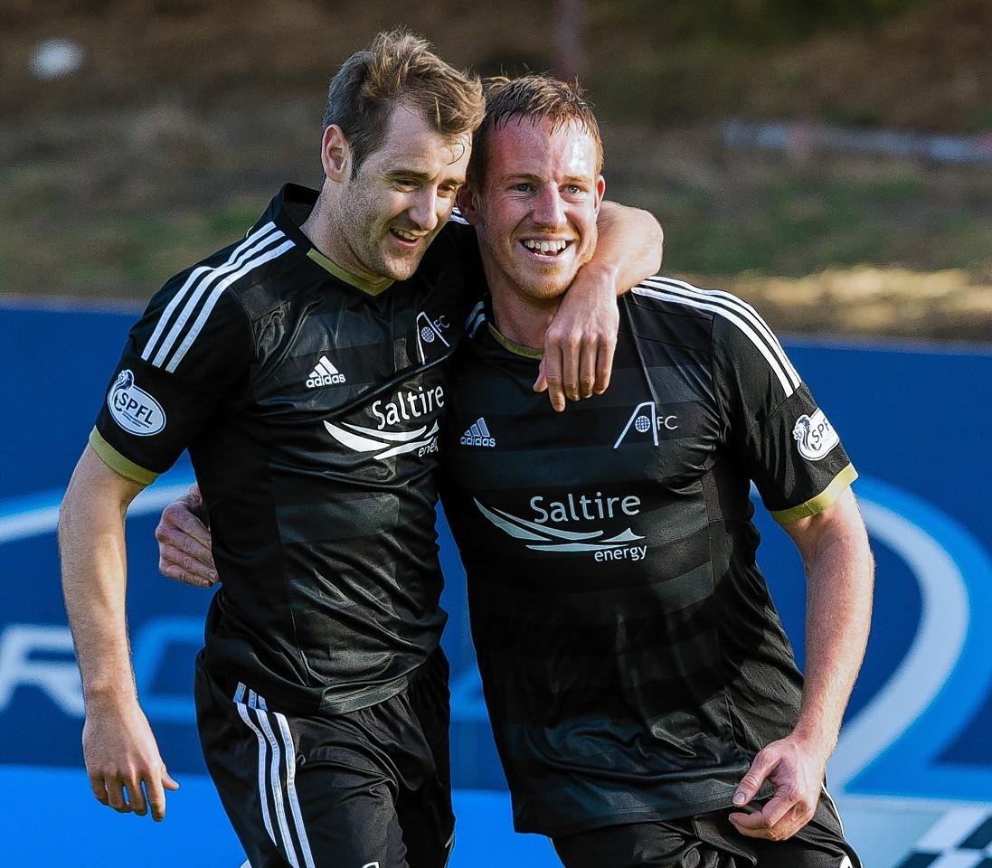 Niall McGinn is closing in on Adam Rooney's 88 goals for the Dons