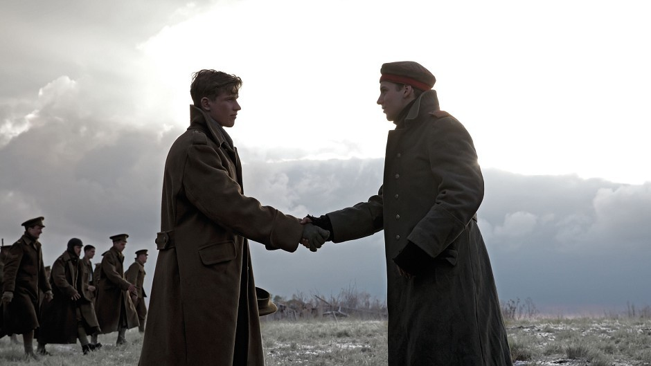 The 1914 football game said to have taken place during a Christmas truce features in the Sainsbury's festive advert this year (Sainsbury's/PA)