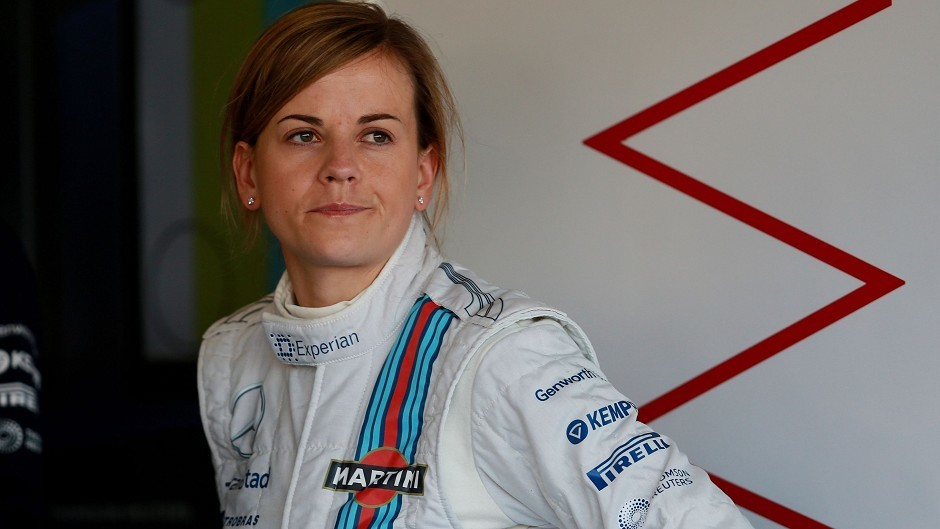 Susie Wolff will become the first female to take part in the Race of Champions