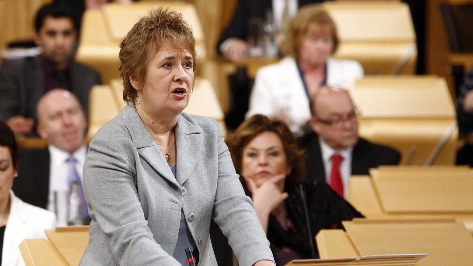 Cabinet Secretary for Fair Work, Skills and Training Roseanna Cunningham