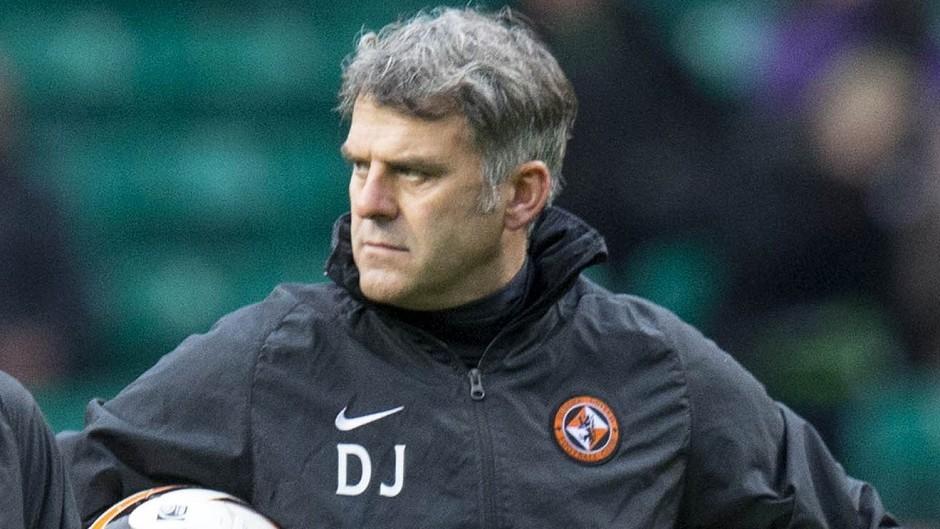 Darren Jackson left his coaching role at Dundee United when Jackie McNamara was sacked