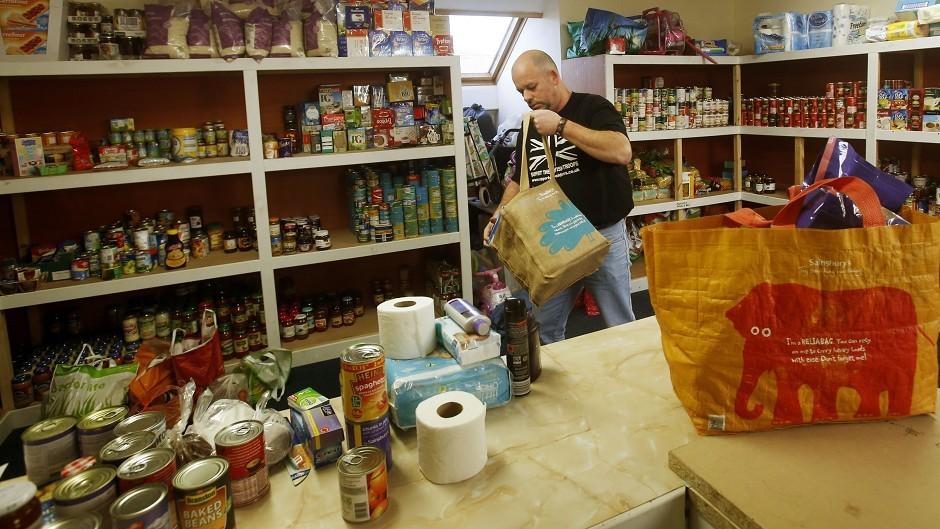 One million people are using Trussell Trust foodbanks