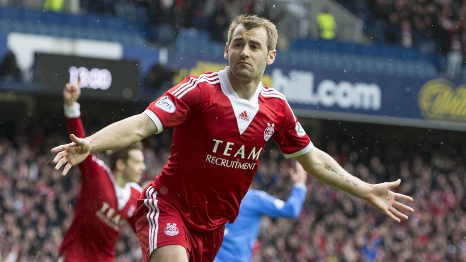 Niall McGinn will be looking to extend his impressive run against Dundee
