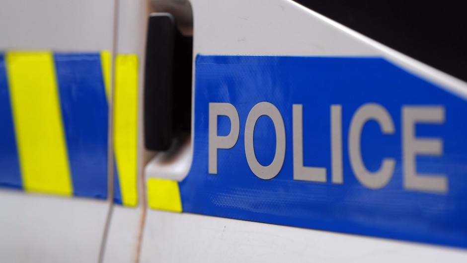 Police are investigating the incident, which occurred in Dunblane on Wednesday morning