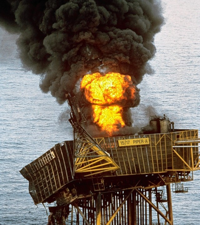 The Piper Alpha tragedy killed 167 workers