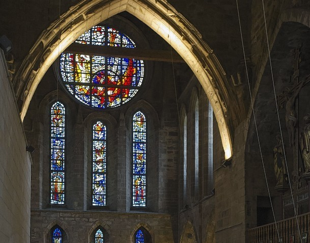 Pluscarden Abbey near Elgin is among the recipients of the UK Government funding