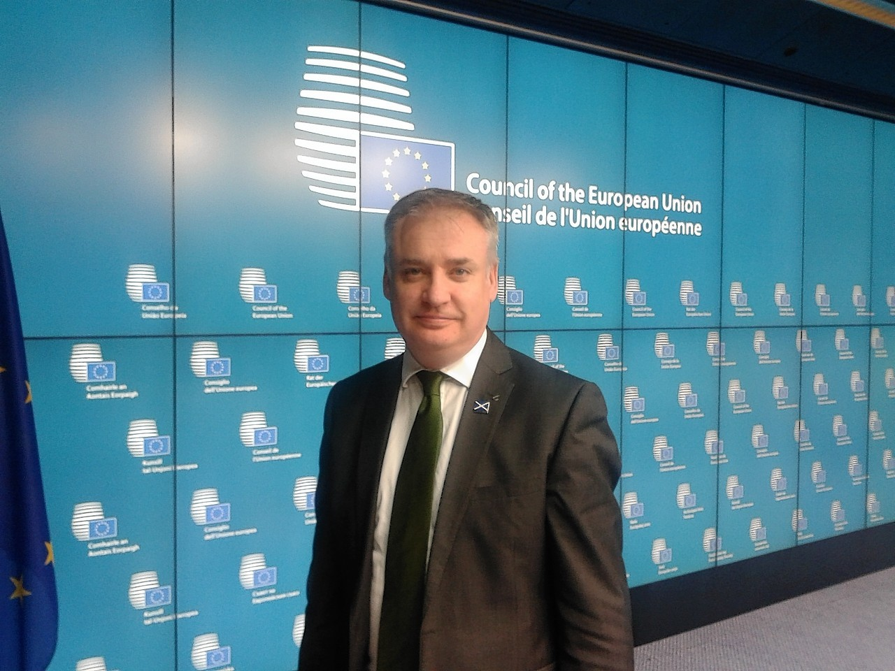 Richard Lochhead in Brussels