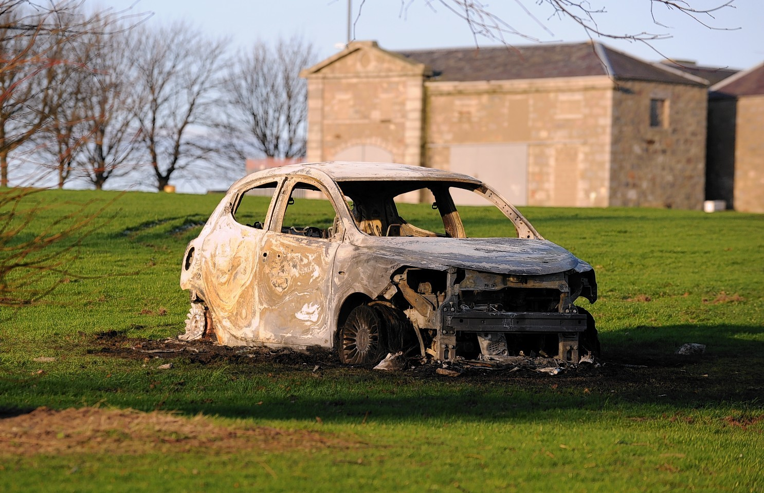 Car destroyed in Sheddocksley