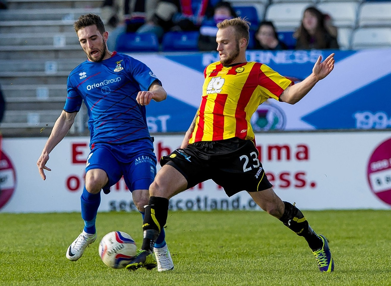 Kallum Higginbotham is likely to be Partick Thistle's main threat once more.