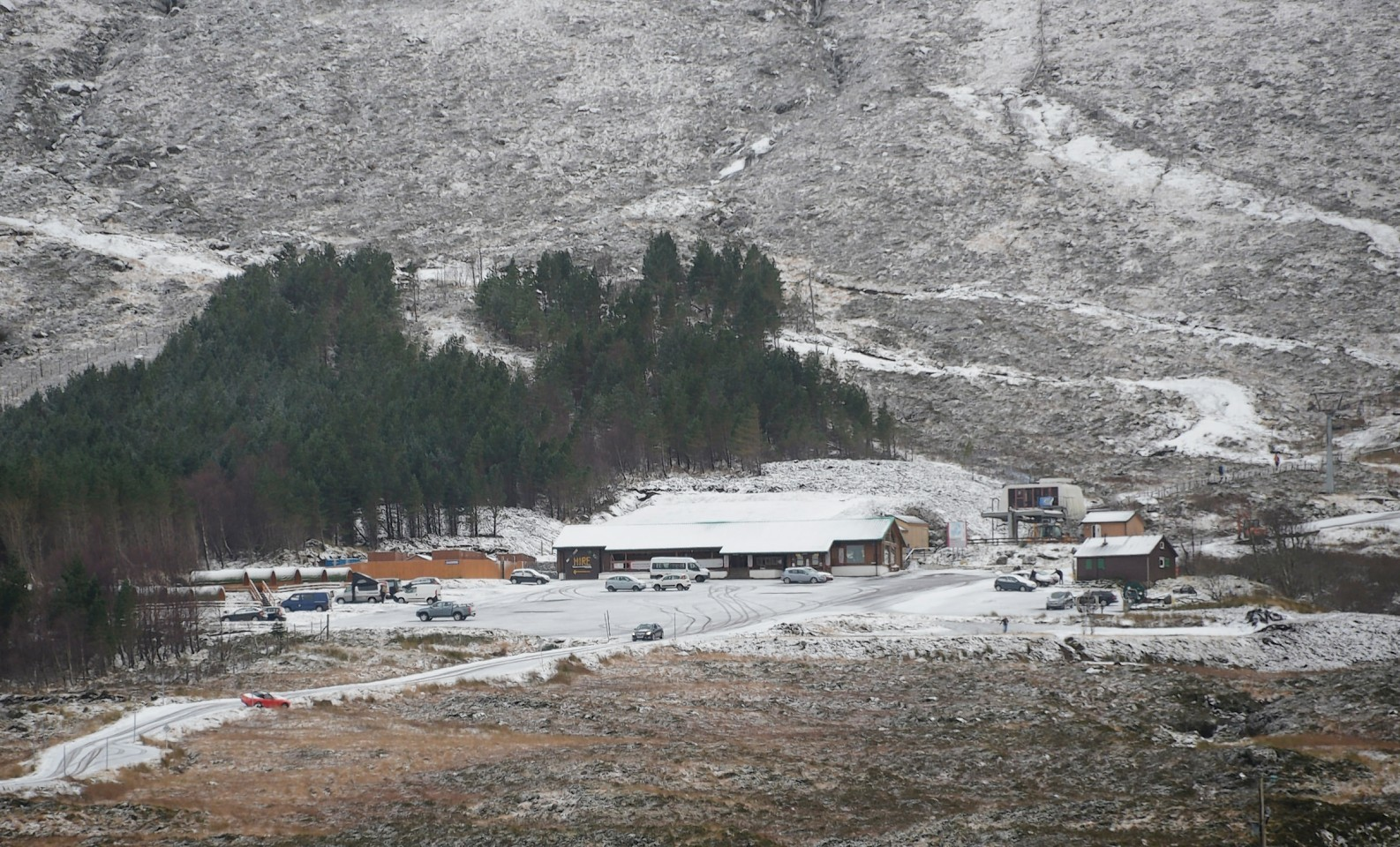 The snowbringers festival provided instant results at Glencoe