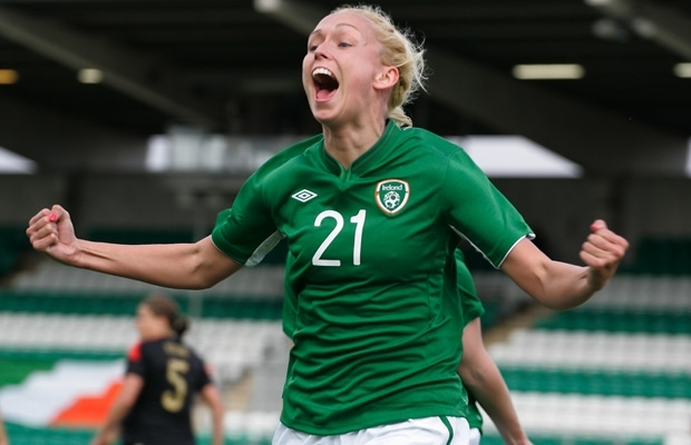 Stephanie Roche is the first female to ever make the three player shortlist.