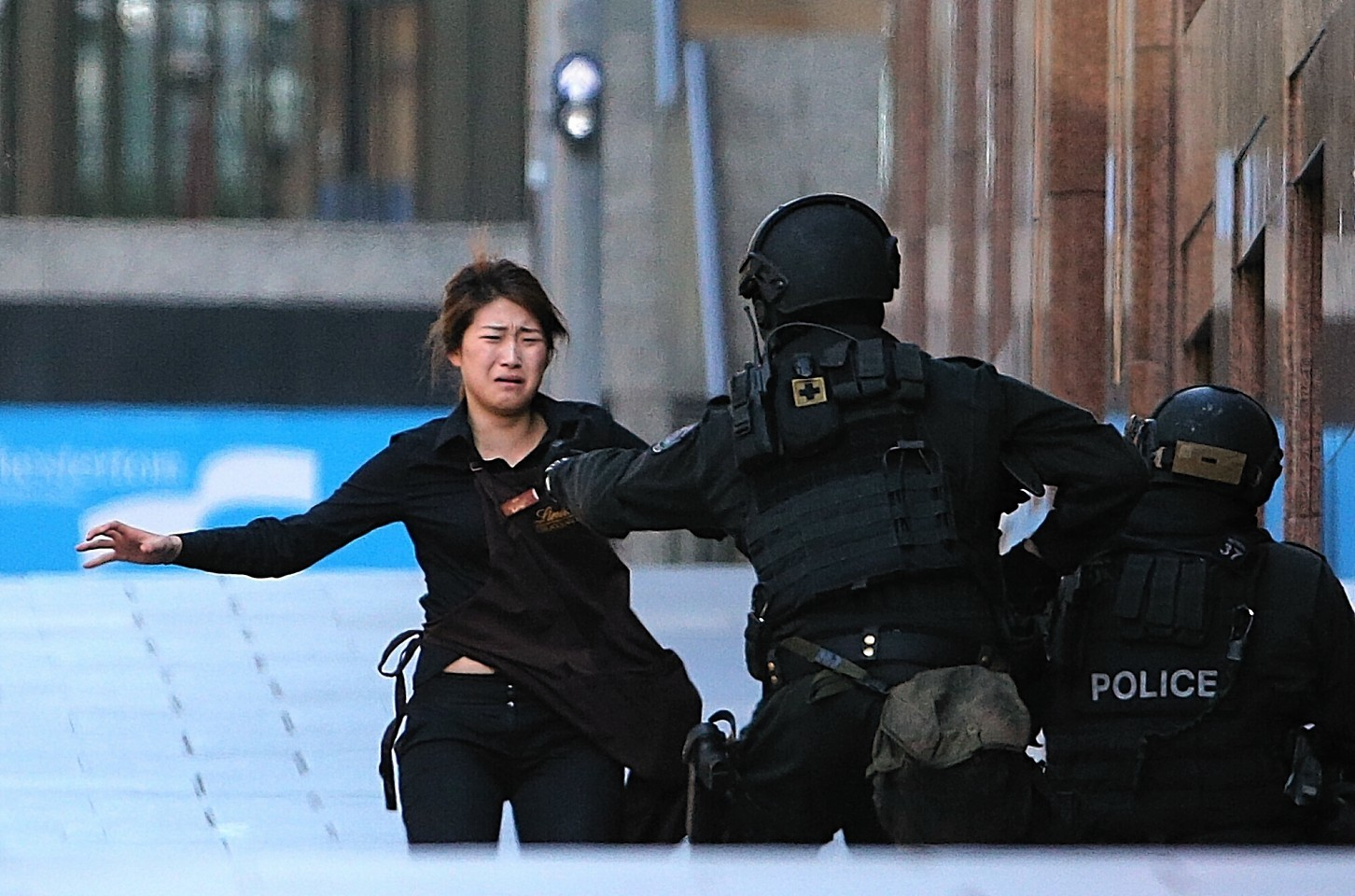 Five hostages managed to escape earlier today and another five have now escaped.