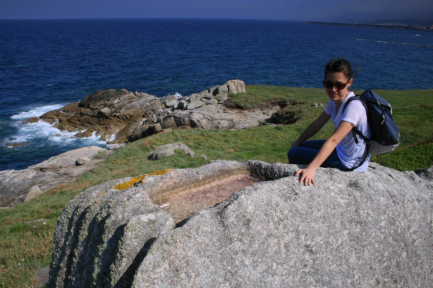Dr Losquino on Spain's northern coast