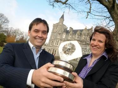 Calum is crowned winner of Grampian Industrialist of the Yea