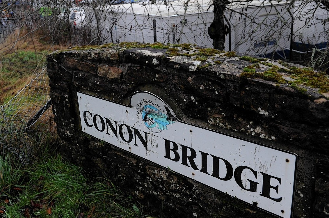 Conon Bridge fish factory site which is proposed for 72 houses