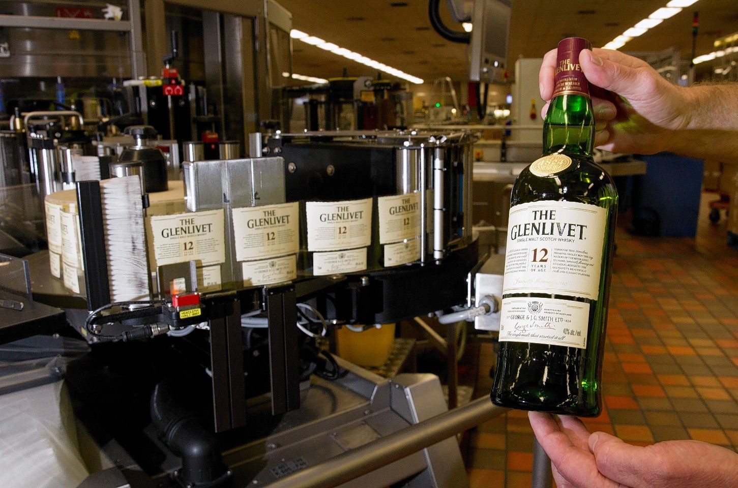 The Glenlivet is produced at a distillery in  Ballindalloch.