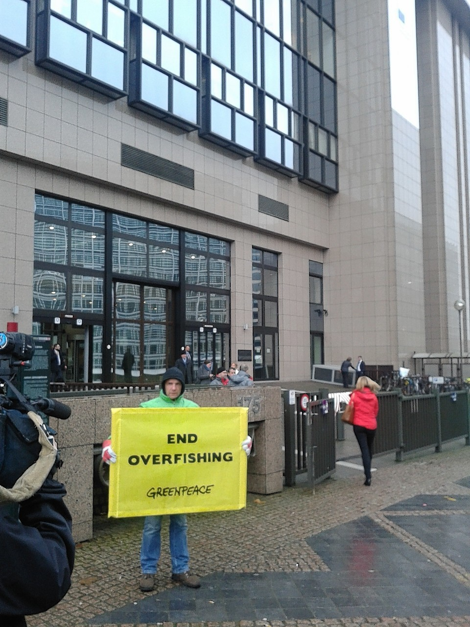 Greenpeace in Brussels