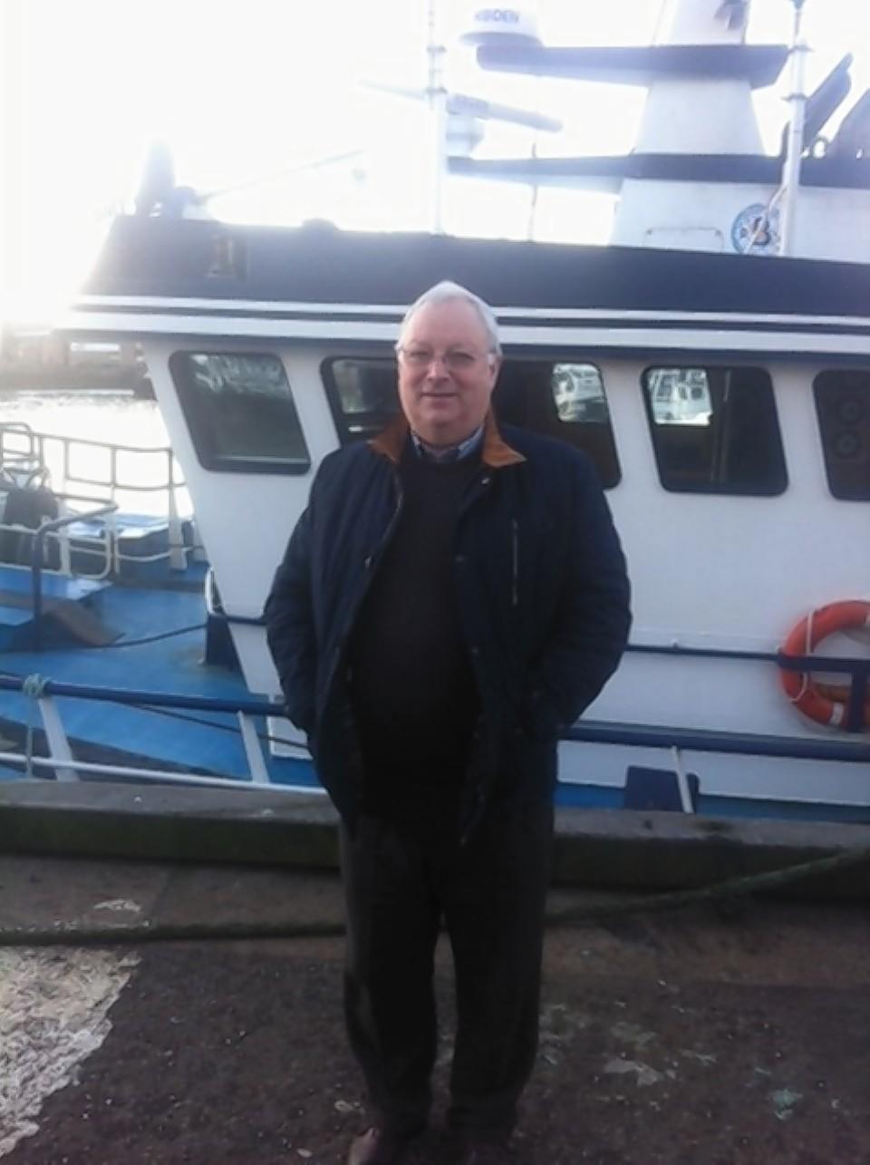 Scottish Fishermen's Organisation chief executive Iain MacSween