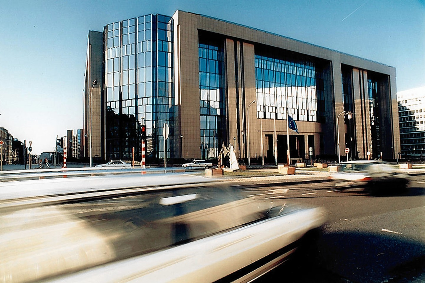 The Justus Lipsius building in Brussels, where the fish talks took place