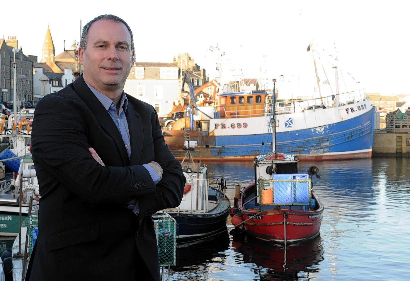 Scottish White Fish Producers' Association chief executive Mike Park who appeared alongside Jim Portus
