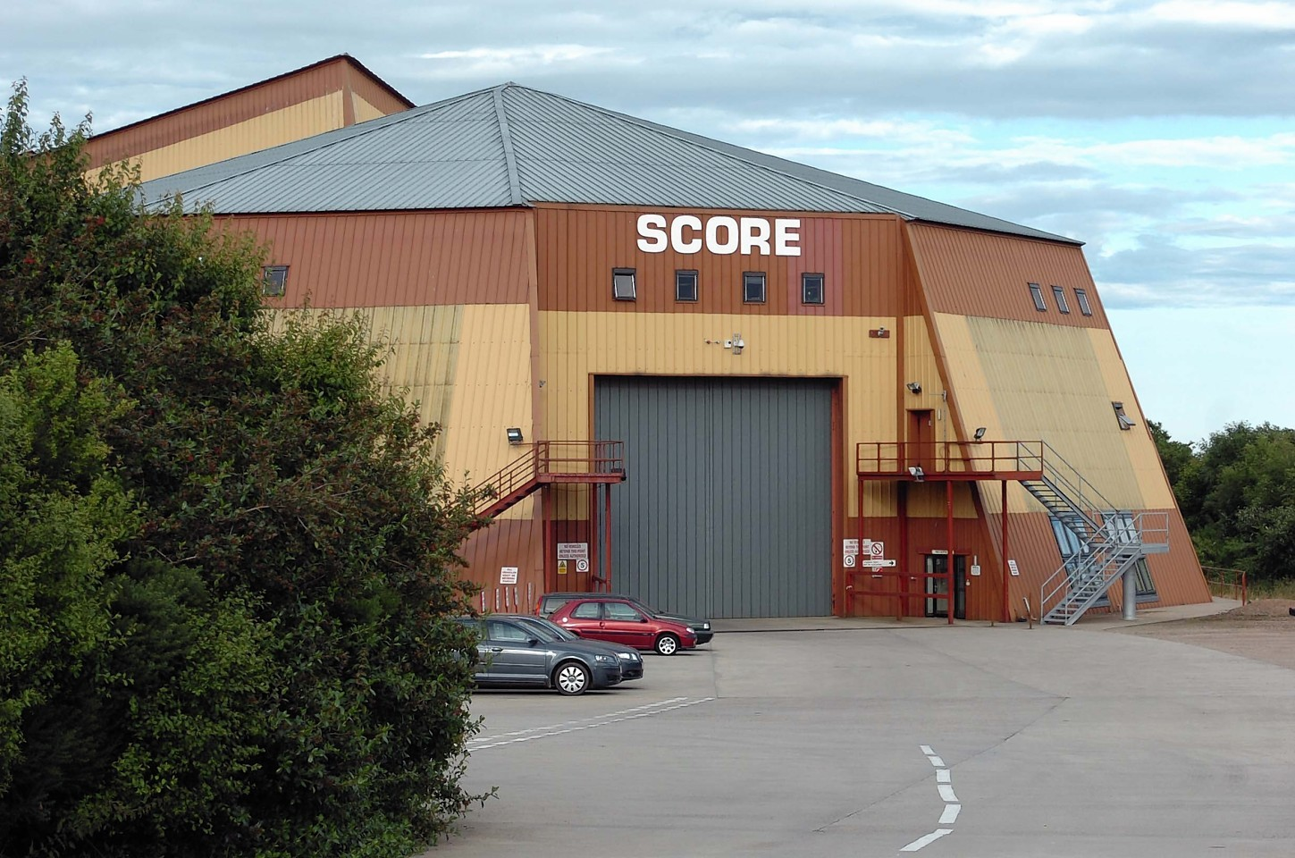 Score Group's HQ in Peterhead