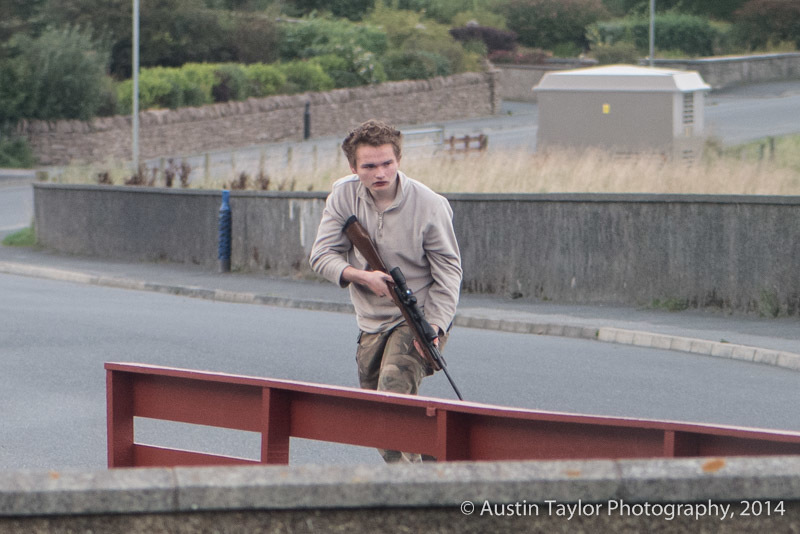Samuel Barlow, 16, was  responsible for the firearms incident in Lerwick on September 23 2014