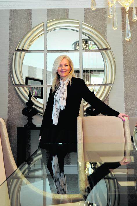Interior designer Justine Winter