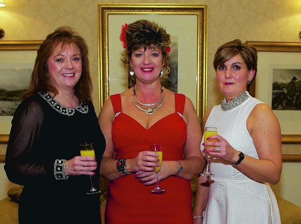 Dawn Munro, Gail Campbell, Lesley Bennett